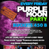 Every Friday Purple Moon Party