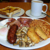 The best full English breakfast only 120 Bath.