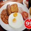 New breakfast promotion 99 baht.