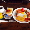 All day breakfast only 120 Baht.