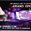 Grand Opening of Club Malibu 8th. September 2014.