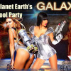 The Planet Earth's Galaxy Pool Party