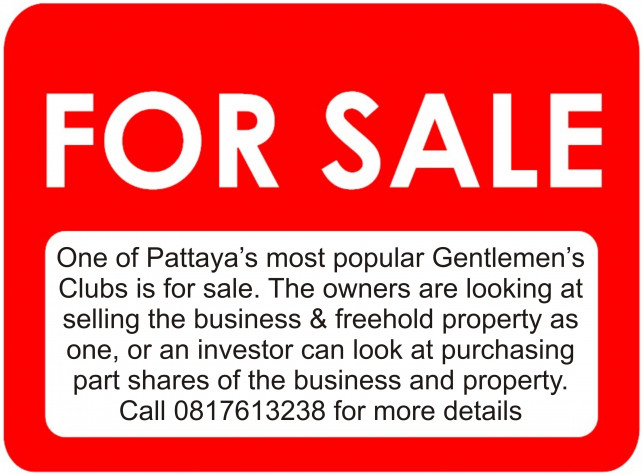 Popular Gentlemens Club For Sale