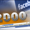 2000 Facebook Friends