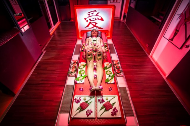 "New to Pattaya, ""Erotic Sushi Dining"""