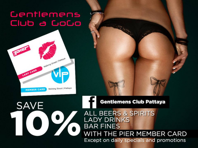 Just Show The Pier Member card and save 10% !