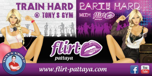 Tony Fitness Centre/ Flirt Pattaya