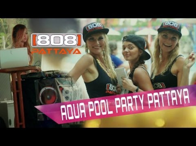 Mercure Aqua pool party  808 PATTAYA