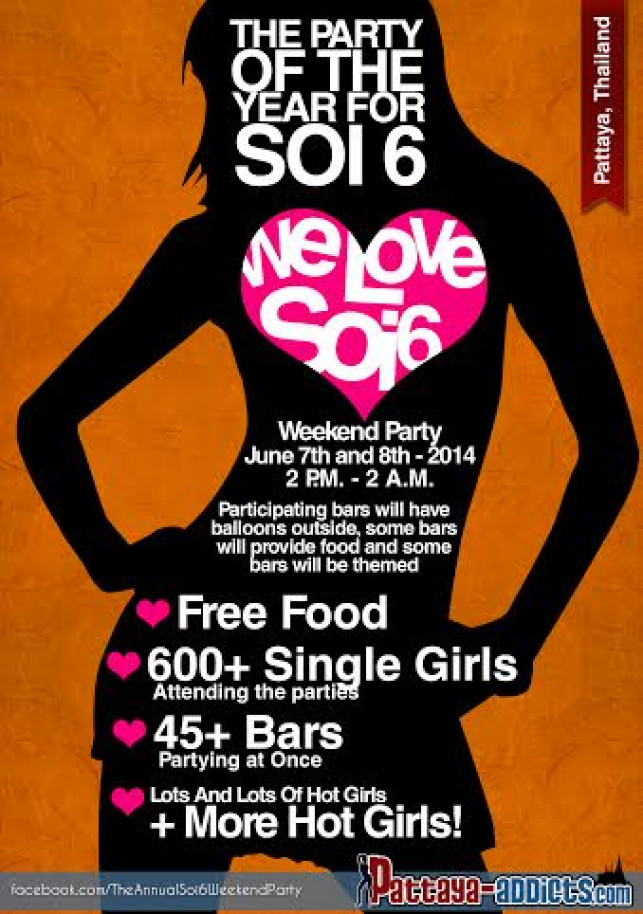 The Party of the year for Soi 6