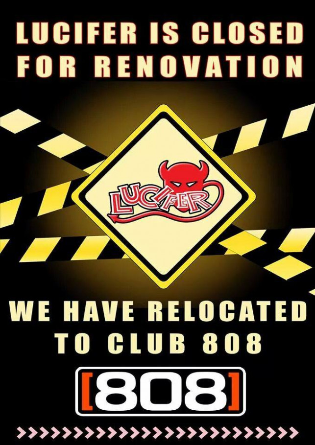 Lucifer is closed for renovation.