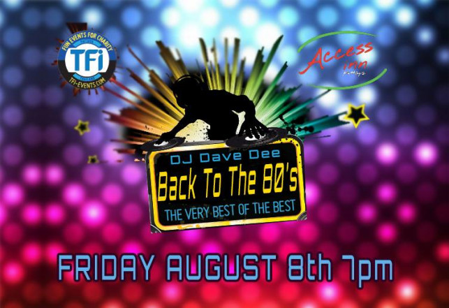 BACK TO THE 80′s @ Access Inn Pattaya