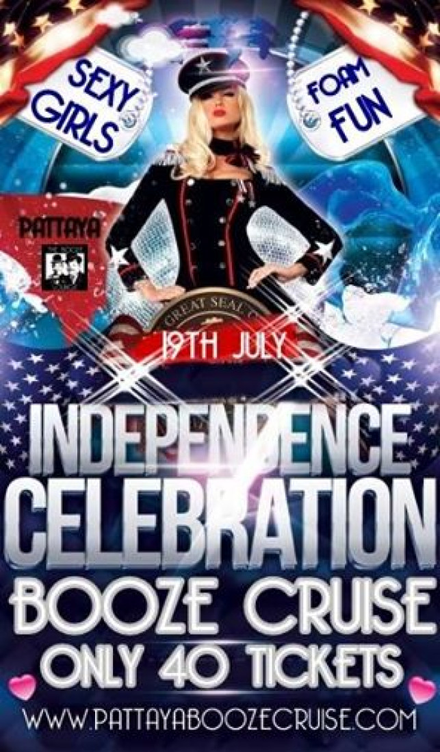 Booze Cruise for July: Independence Cruise