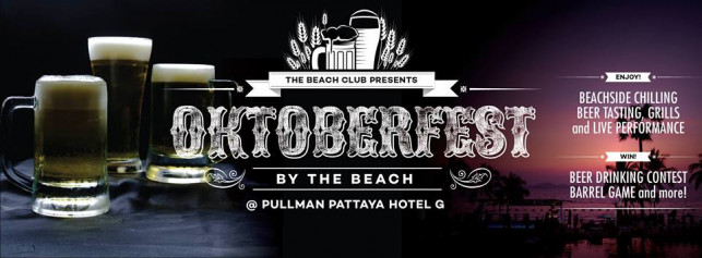 OKTOBERFEST by the Beach!