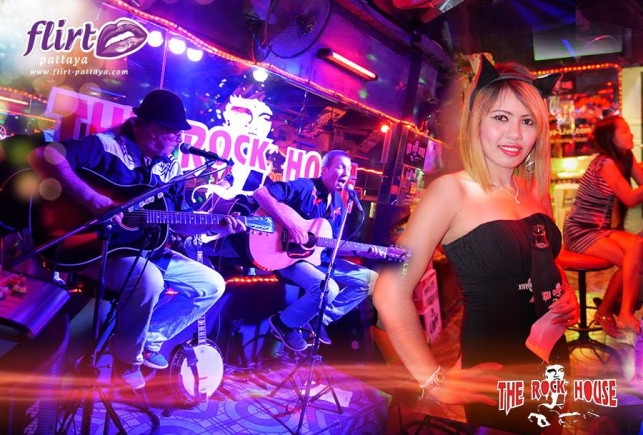 Pattaya-Live anniversary @ The Rock House Bar  (LK Metro)