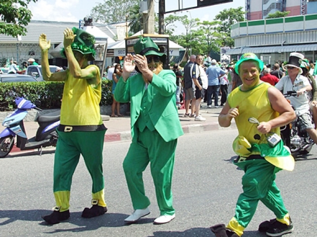 Paddys Day in Pattaya VIDEO REVIEW