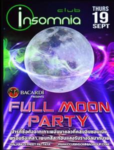 Insomnia Full Moon Party