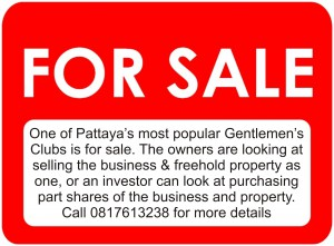 Gentlemens Club For Sale