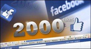 2000 facebook likes