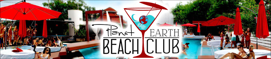 Planet Earth Beach Club  Pattaya