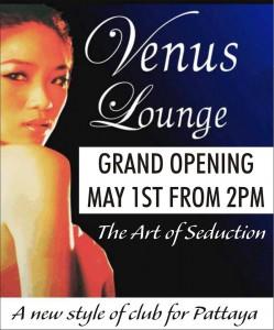 Venus grand opening