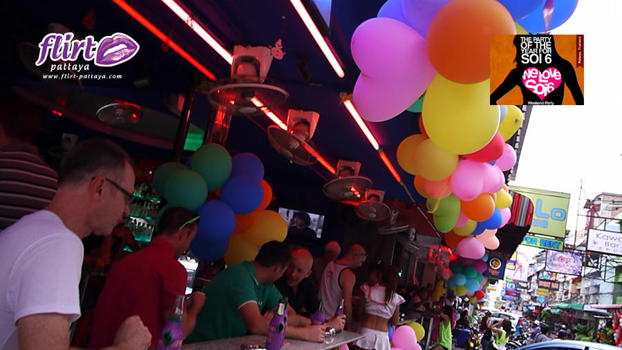 We Love Soi 6 Street Party | Flirt Pattaya