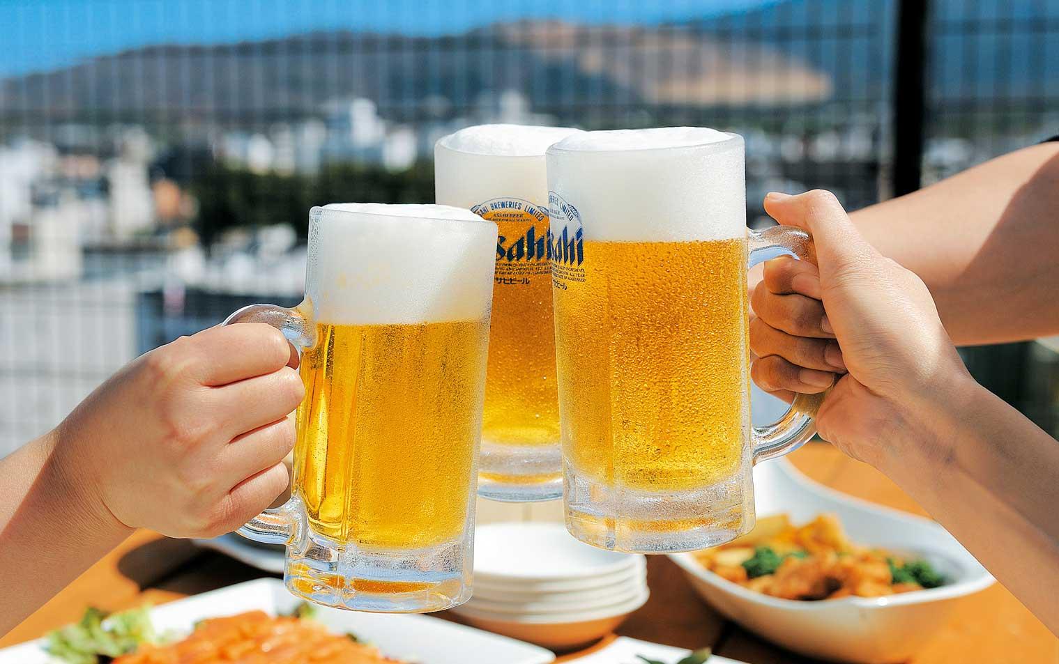 asahi draught beer 65 baht     venus love lounge